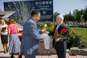 День Воздушного Флота. Торжественная церемония награждения работников предприятия за трудовые заслуги